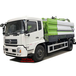 4x2 Kingrun latest new design sewer suction truck