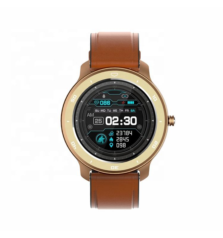 Promotional 2020 New Arrivals Luxury IP68 Swimming Waterproof Sleep Monitor Remote Camera Heart Rate Monitor Smart Watch