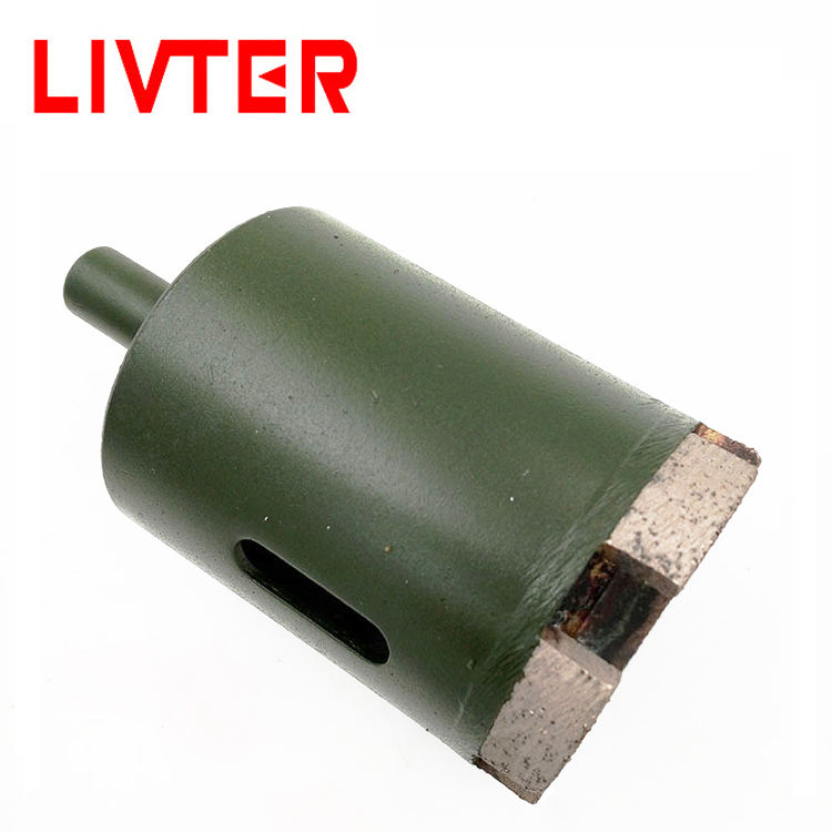 LIVTER cheap most popular crown for diamond core drill bit china manufacture high polished china top diamond core drill bit
