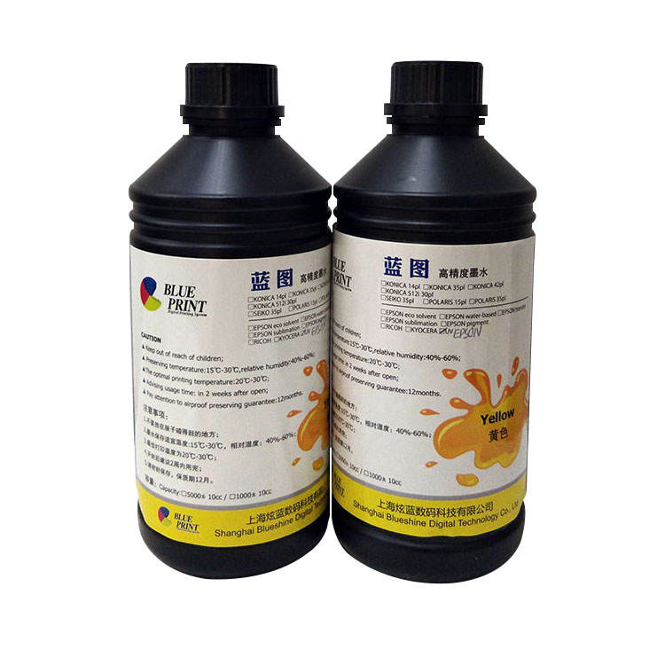 Energy-Saving Environmental Protection UV Ink Flex & Hard Printing UV Ink