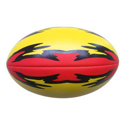 Manufacture Customized Fashion Rugby Ball For Sales