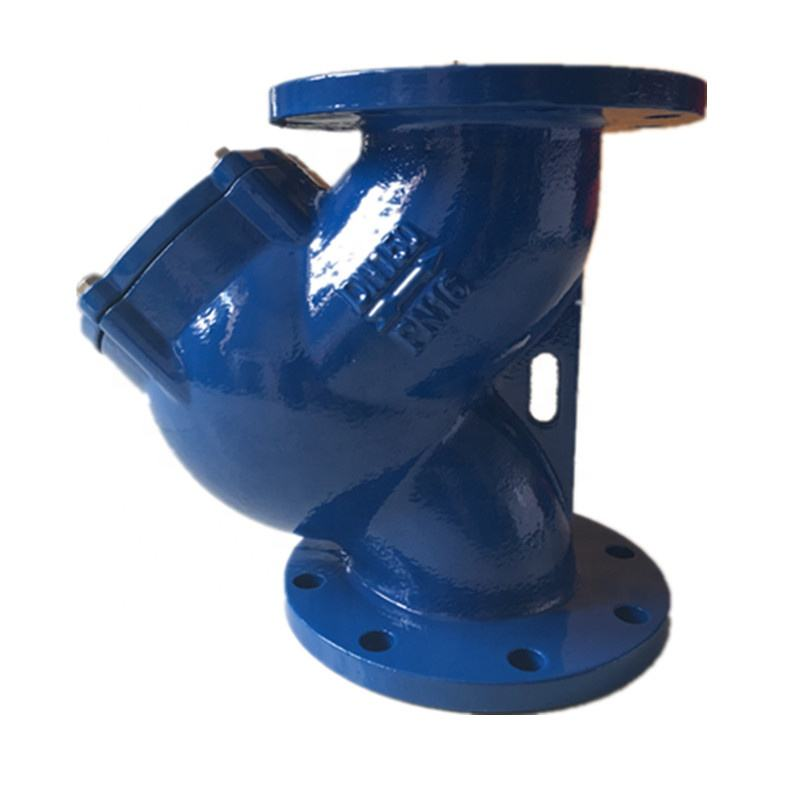 GL41H Ductile iron double flange Y type strainer DN50-DN600
