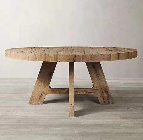 china manufacturers wholesale solid recycled wooden antique dining farm table