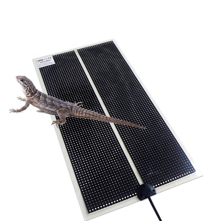 Reptile heated infrared pet pad
