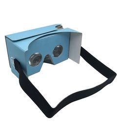 custom full color printed google cardboard vr 3d glasses headset google cardboard v2 oem customized logo