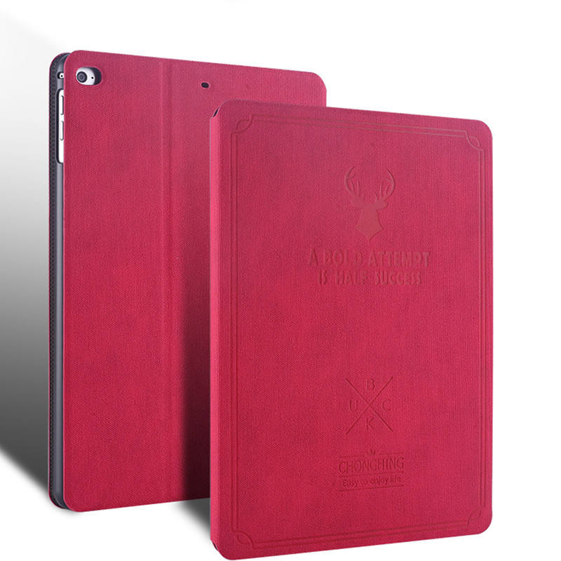 Custom Bulk Covers Cases Smart Schelp Shockproof Leather Book 9.7 for New iPad 9.7 2017 Tablet