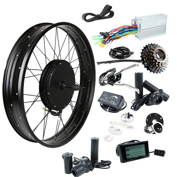 48v 1500w electric bicycle conversion kit for fat electric kit for bike free shipping to colomb