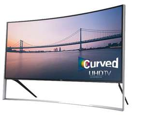 China Cheap Television Curved Smart TV 105 inches 4K 3D LED TV Ultra HD UHD 105S9 Series UN105S9WAFXZA 105 Class (104.6 Diag.)