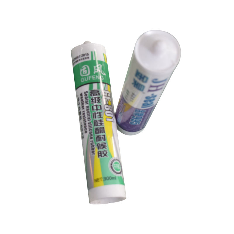 China Manufacturer Single Component Neutral Weatherproof Silicone Sealant For Glass