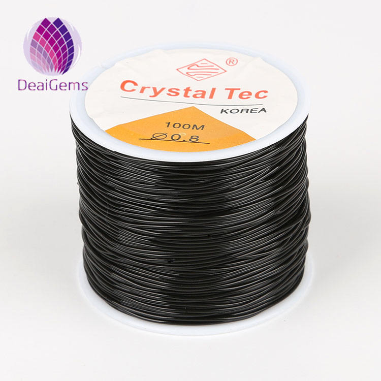 Transparent Crystal high elastic TPU thread durable Beading Cord String for bracelet making