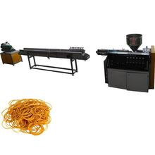 Manufacture Black Rubber Pope Hair Bands Banknote Brand Extrusion Line Price