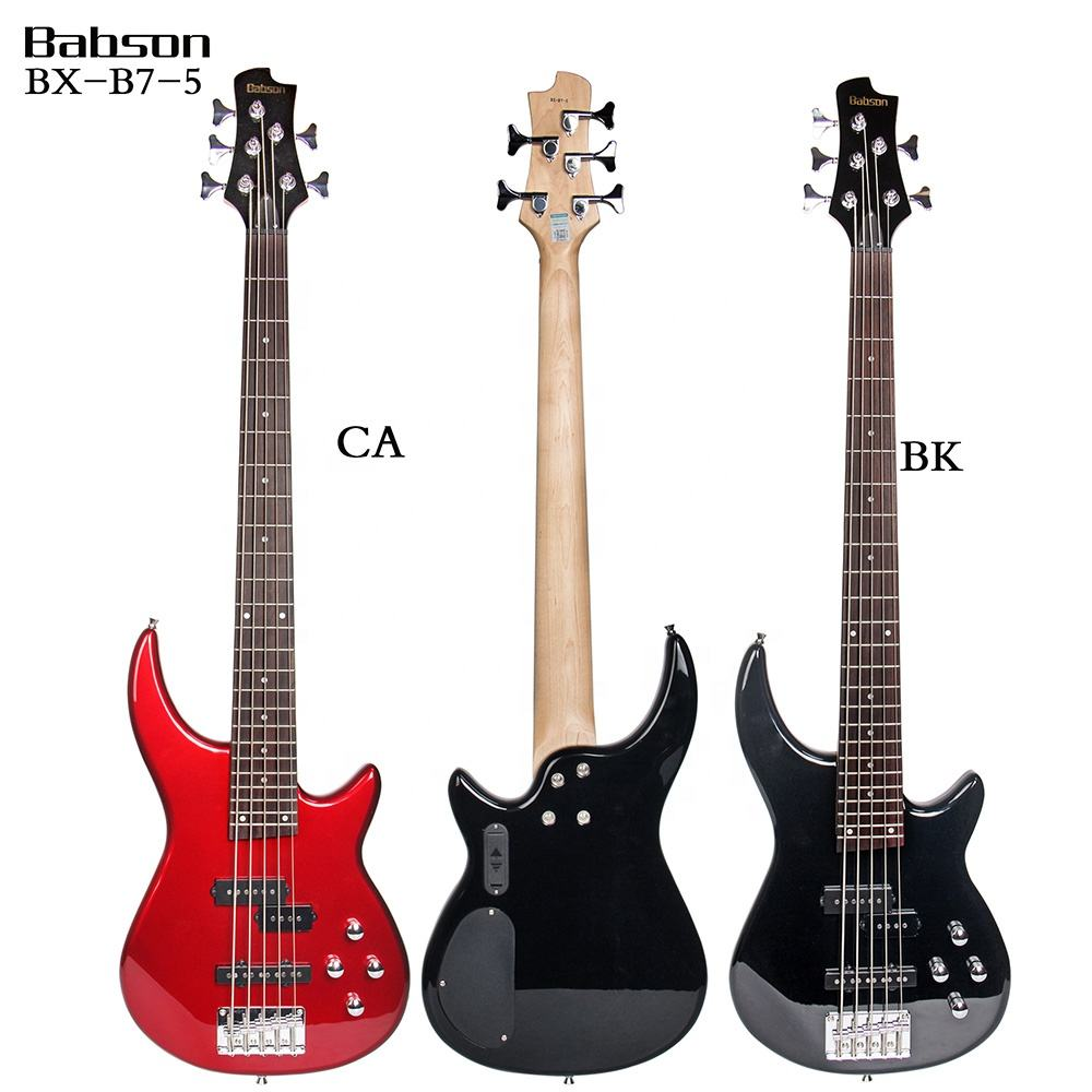 BX-B7-5 Hot Sale Electric Bass Guitar 5 Strings China Manufacturer Wholesale