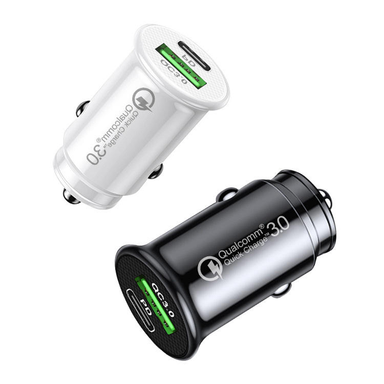 PD 18W 36W QC3.0 Quick Charging 5V 3.1A Dual Single 1 Port The Usb Car Charger