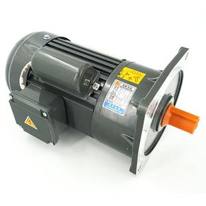 Popular 1hp 2hp 3hp 4hp 5hp Single phase Flanged mounted Helical gear motor