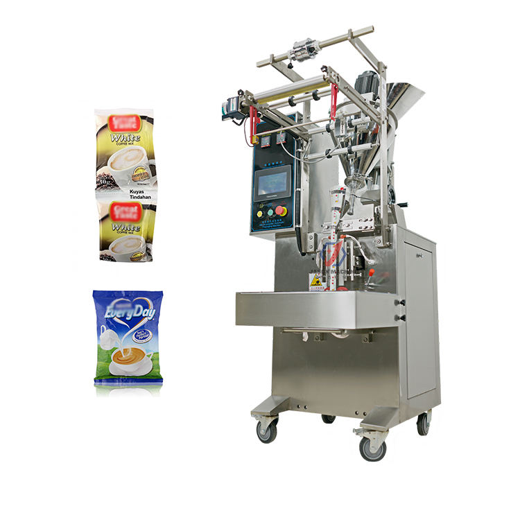 Pouch powder packing coconut milk coffee powder packaging machine