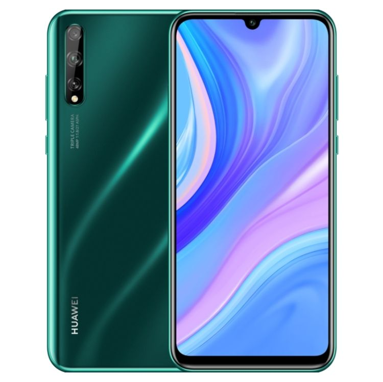 Dropshipping Online Original Phone Emerald Huawei Enjoy 10S AQM-AL00, 48MP Camera, 6GB+64GB, China Version