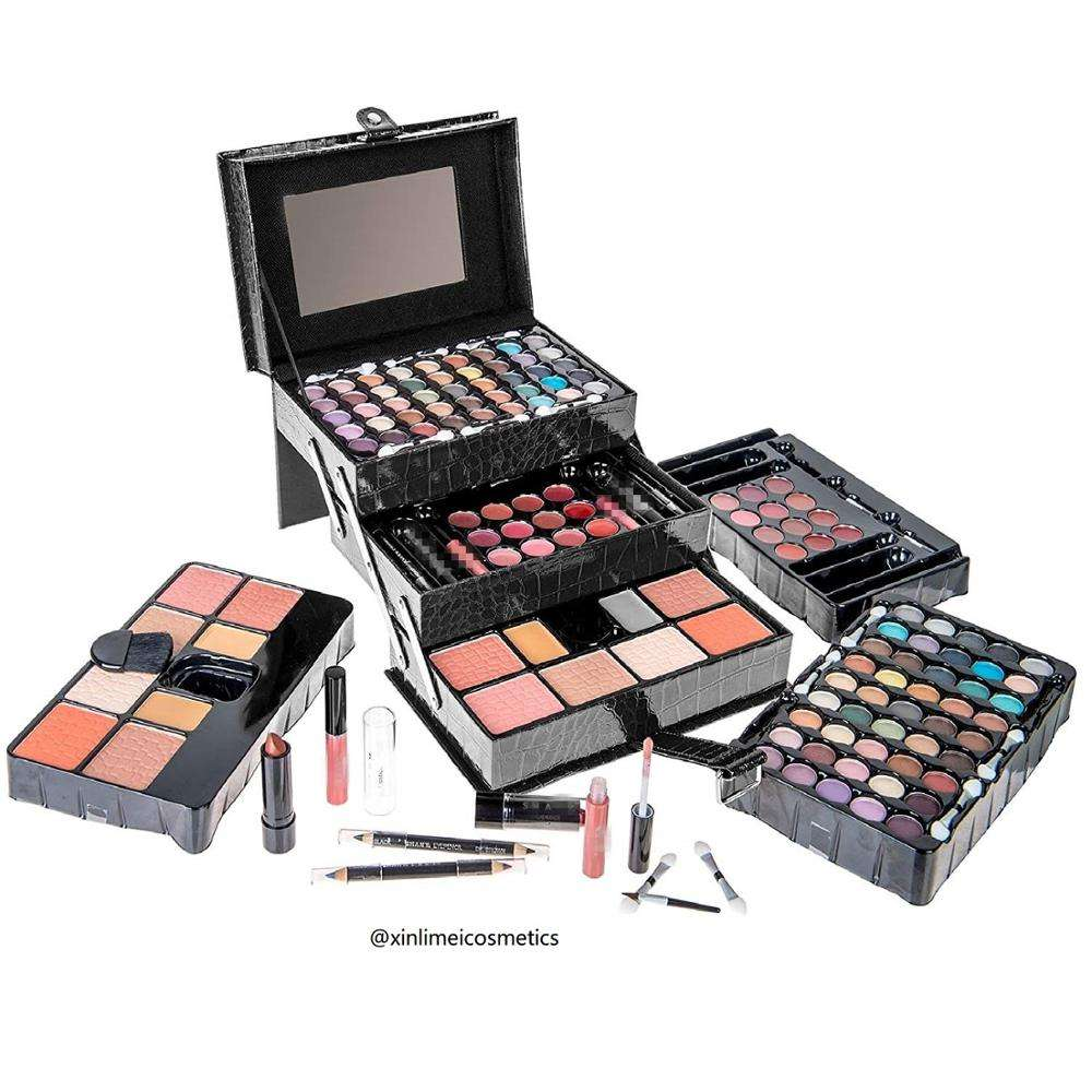 Wholesale Cheap Bridal New Complete Full Big Small Makeup Gift Set Tool Kit
