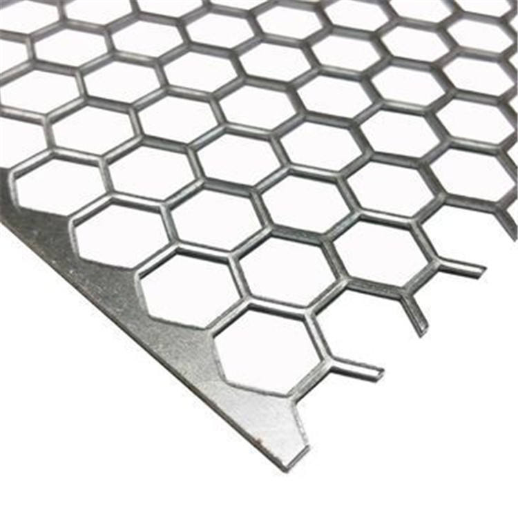 2.0mm round hole perforated metal mesh punching net