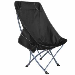 Outdoor folding moon chair portable picnic barbecue park sketching stool lunch break beach fishing chair