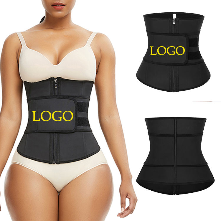Custom Logo Latest Design New High Quality Waist Trainer Slimming Comfortable Latex Waist Trainer Private Label