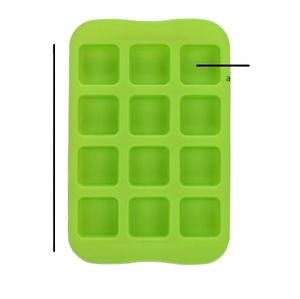 Ice Cube Trays Ronde Cylicone Custom Baksteen Siliconen Ice Cube
