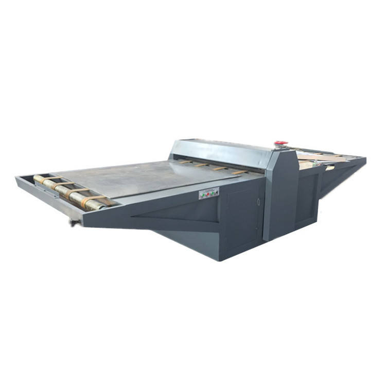 MQJ-1600 flat bed corrugated cardboard die cutting and creasing machine