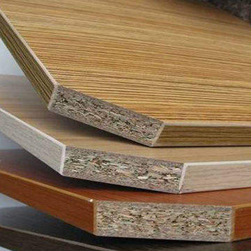 MDF HDF Plywood particle board with veneer melamine surface