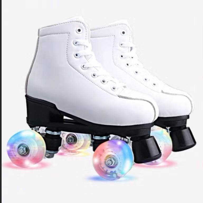 2020 factory hot sale high quality flash roller skates unisex for woman and man