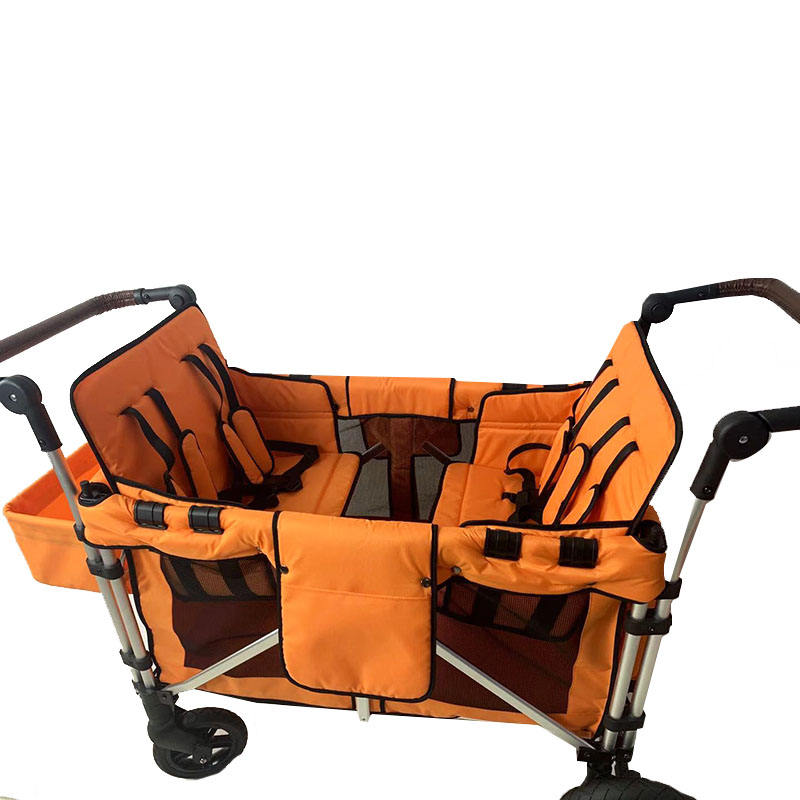 Hot sale aluminum baby stroller and sleeping basket 2 in 1
