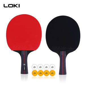 LOKI High quality Professional Table Tennis Racket  Ping Pong Bat  Table Tennis Paddle