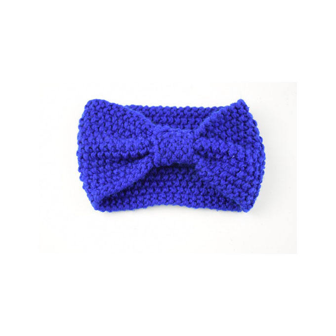 2019 Corn grain bow knitted wool headband hair band wholesale sports ear cover hood hand warm headband women