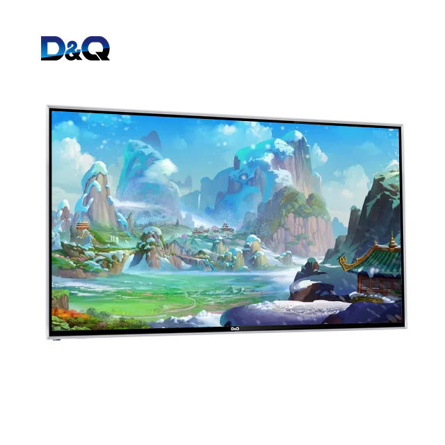 OEM 32'' 40'' 43'' 50 inch flat screen digital television HD 4k android smart tv, hd led smart tv 4K