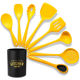 9 Pcs Food-grade Silicone BPA Free Kitchen Accessories Tools Asian Cuisine Kitchen Utensil Set