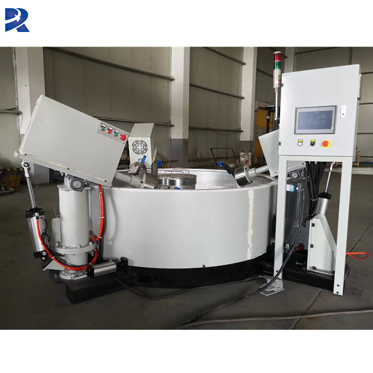 Huge capacity automatic vibrating aluminum wheels polishing machine/vibratory tumbler polisher