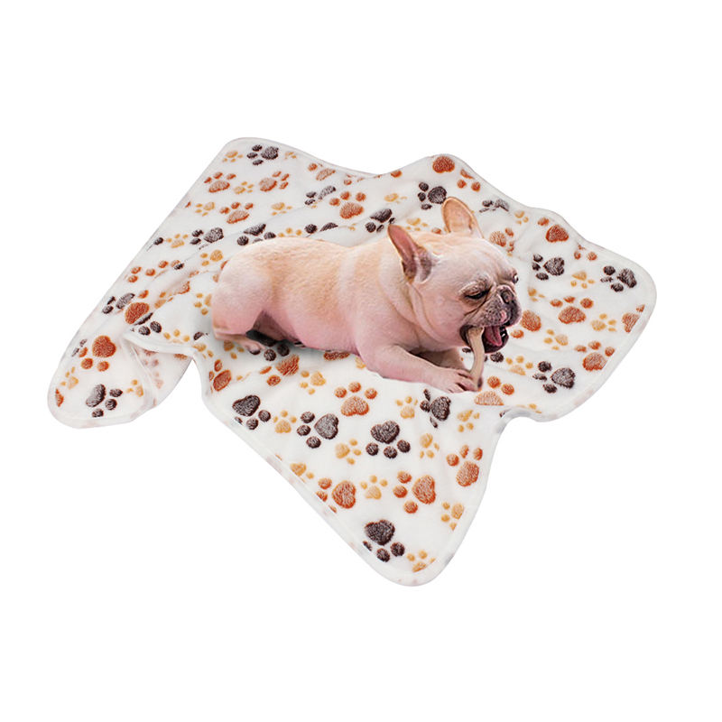 Paw Pattern dog Cat Mat Dog Puppy print a pet blanket