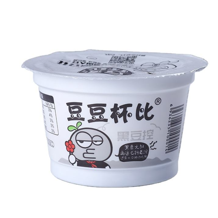 High nutritional value tofu snacks healthy food black soya bean Tofu Pudding vegetarian food bean products