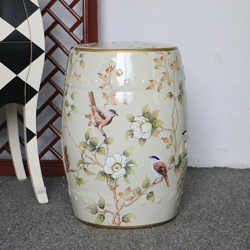 Chinese antique garden stools