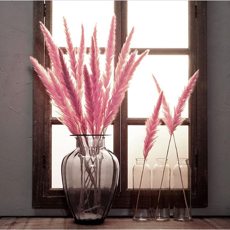 New Arrivals Decorative Artificial Grass Real Dried Decorative Indoor Grass Small Pampas Grass