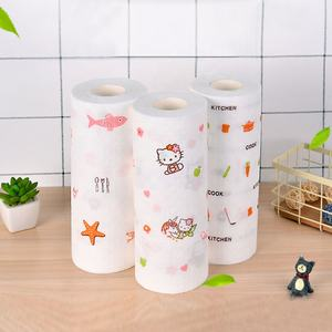 Private Label 1 Ply Biodegradable Napkin Roll Tissue Kitchen Paper Towel