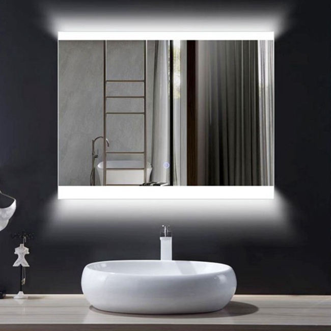 Newly sold anti-fog bathroom mirror can illuminate LED mirror