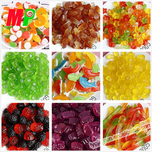 2019 Wholesale bulk packing various gummi sweet halal fruity gummy jelly candy