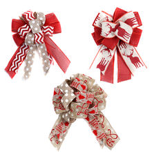 Boutique Luxury Christmas Tree Decoration Ribbon Bow