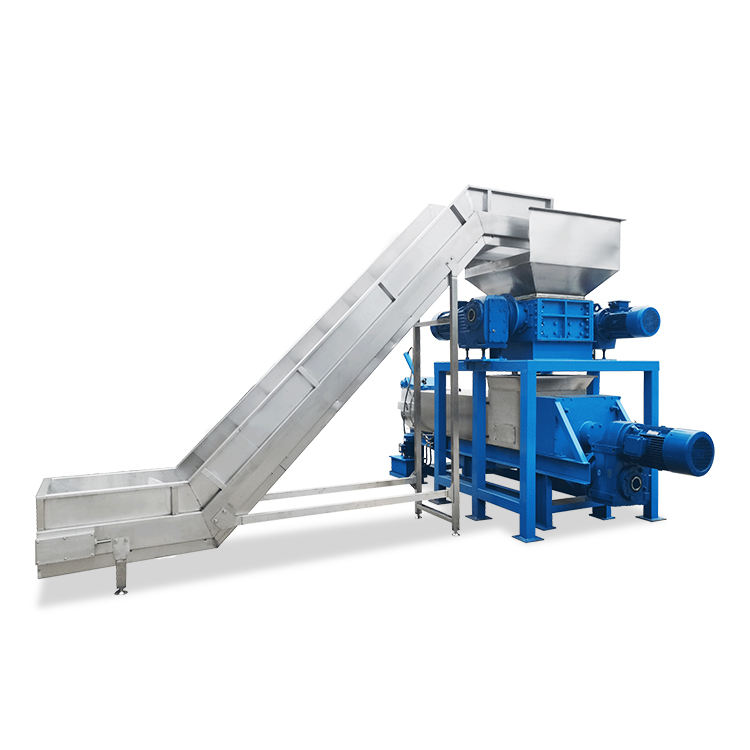 Food waste vegetables recycling waste dewatering machine supplier