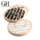 Guorui Solid wood ring frame bracelet display stand ring display board storage box jewelry display props wholesale