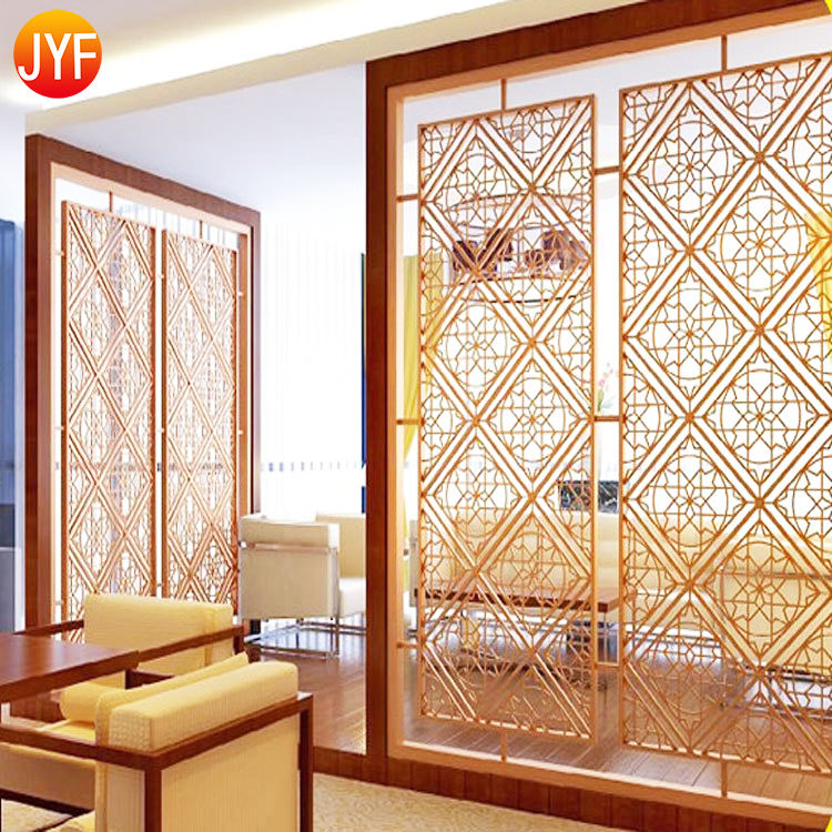 ZB0028 Good Quality Stainless Steel Decorative Wall Partition Balcony Room Divider Outdoor Balcony Privacy Screen