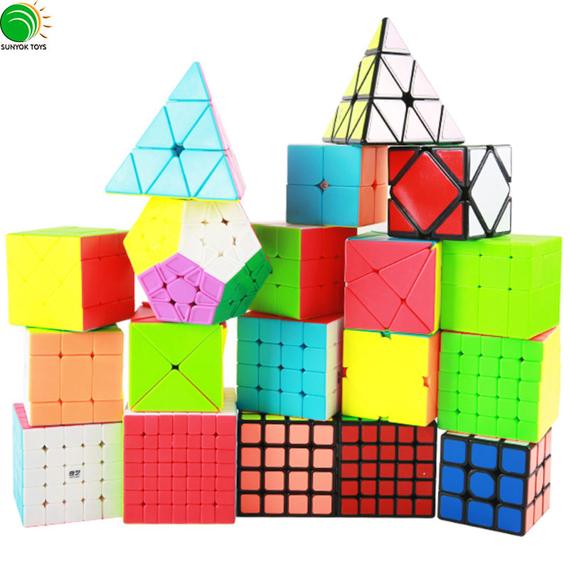 Hot Selling Amazon YongJun Moyu 3x3 Speed Puzzle Magic Cube