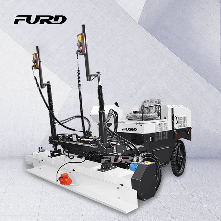 FJZP-200 Manufacturer 2.5m Ride on Concrete Laser Screed Machine