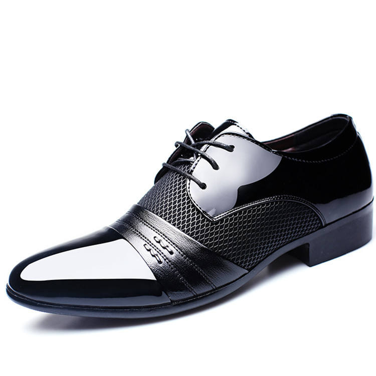 QUQI Men Leather Shoes fashion sneaker hot 18 girls japanese girl sexy black with white lace up dress pakistan leather shoes