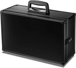 PSA Game Card Storage Case Aluminium all black