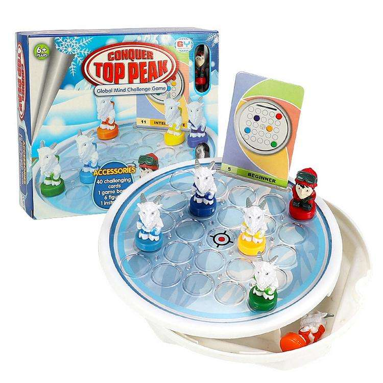 Conquer Top Game Find the Route and Reach the Top Game Toys High Quality Material climbers to conquer the mountain